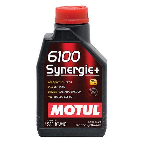 Моторное масло MOTUL 6100 Synergie + 10W-40 - 1 л